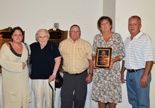 The 2012 IN-IAAI Lifetime Achievement Award is presented to Terry T. Fleming's family.