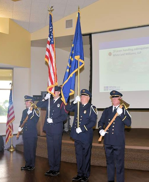 Honor Guard at the 2018 Fire Investigation Conference